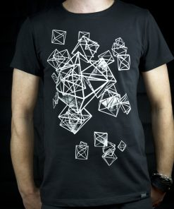 Puzuri - black T-shirt