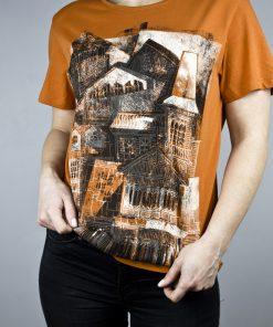 House T-shirt orange