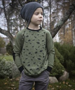Bērnu džemperis ar zvēriem